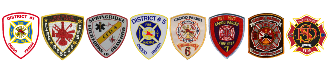 Caddo Parish Fire Districts and Shreveport Fire Department