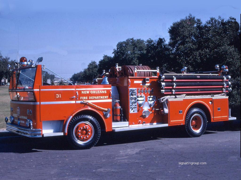 Fire Truck Wallpaper